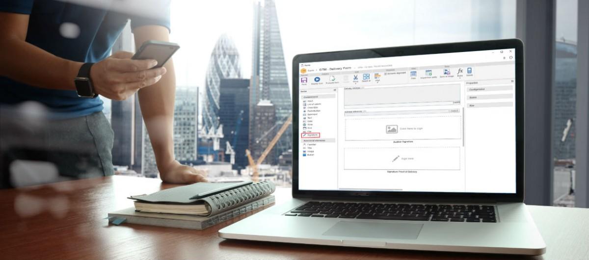 Assine formulários no SE Suite de forma simples