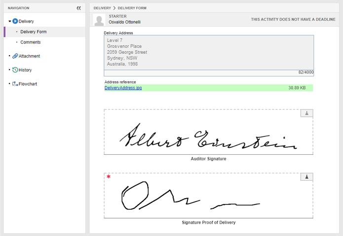 Firme formularios en SE Suite de forma simple