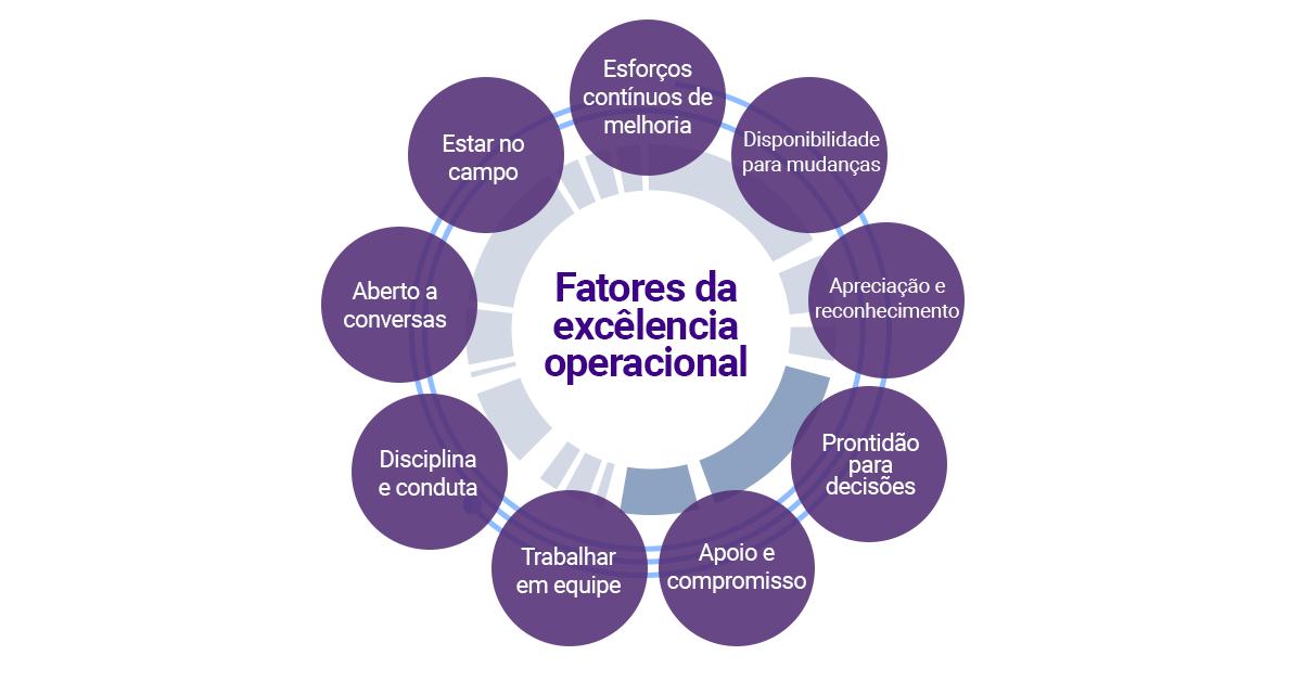 Excelência Operacional empresas brasil