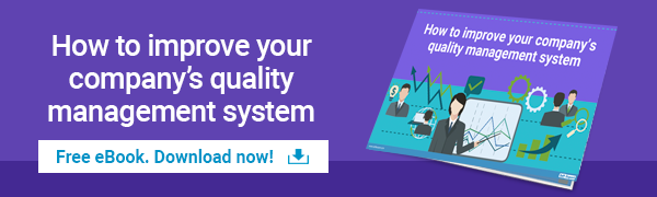 How to improve your company's quality management system
